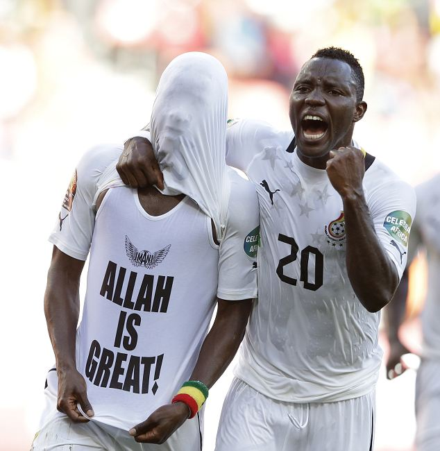 FIFA bans Muslim footballer for praising Allah