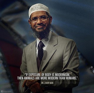 Dr Zakir Naik Quotes – Exposing Ones Body