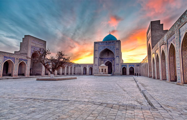 Imam al-Bukhari was born and raised in the city of Bukhara, in Central Asia