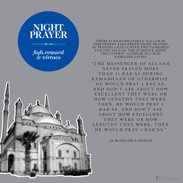 night prayer hadith