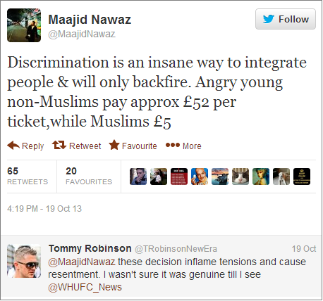 Maajid-Nawaz-and-Stephen-Lennon-on-Upton-Park-incident