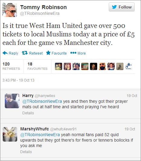 Stephen-Lennon-cheap-tickets-for-Muslims-tweet